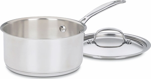 Cuisinart Chef's Classic 2 Quart Sauce Pan with Lid - Click to enlarge