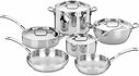 Cuisinart French Classic 10 Piece Cookware Set