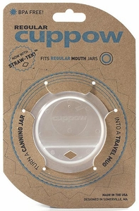 Cuppow Canning Jar Drinking Lid - Click to enlarge