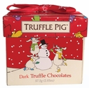 Dark Chocolate Truffle Pigs