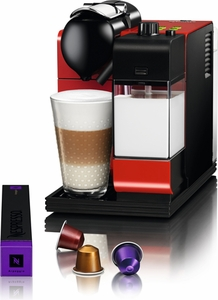 DeLonghi Red Lattissima Plus Nespresso - Click to enlarge