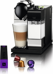 DeLonghi Silver Lattissima Plus Nespresso - Click to enlarge