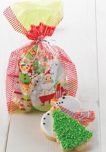 20 Count Holiday Treat Bags - Click to enlarge