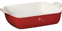 Emile Henry Rectangle Baker 11&#34 x 8&#34 Rouge