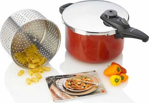 Fagor 6 Quart Cayenne Pressure Cooker - Click to enlarge
