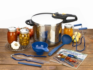 Fagor 9 Piece Pressure Cooker Canning Set - Click to enlarge