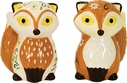 Fox Salt and Pepper Shakers