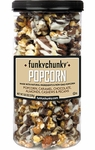 Funky Chunky 20 oz Chocolate Popcorn Tall Canister