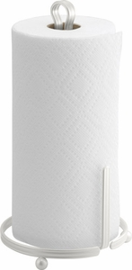 Interdesign York Lyra White Paper Towel Stand - Click to enlarge