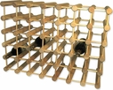 J.K. Adams 40 Bottle Natural Wood Wine Rack