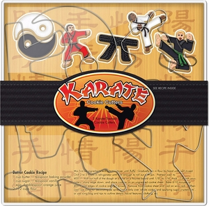 Karate Cookie Cutter Set - Click to enlarge