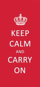 Keep Calm Kitchen Towel - Click to enlarge