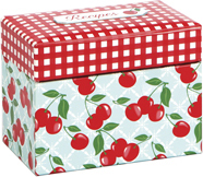 Kitchen Cherry Recipe Storage Collection - Click to enlarge
