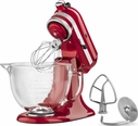 KitchenAid® 5 Quart Designer Stand Mixer Candy Apple Red