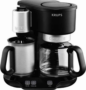 Krups Latteccino Coffee Maker & Milk Frother - Click to enlarge