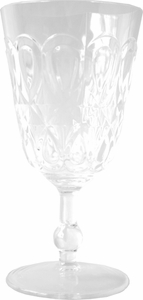 Le Cadeaux Casablanca Clear 10 oz. Polycarbonate Wine Goblet - Click to enlarge