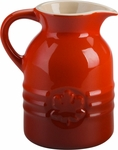 Le Creuset 6 oz Syrup Jar Cherry
