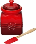Le Creuset Berry Jam Jar with Spreader
