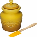 Le Creuset Mustard Pot with Spreader