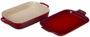 Le Creuset Rectangular Dish with Platter Lid Cherry