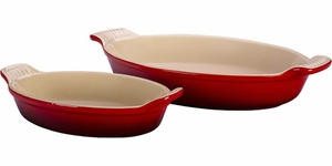 Le Creuset Set of 2 Au Gratin Dishes - Click to enlarge