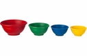 Le Creuset Set of 4 Multi-Colored Silicone Prep Bowls