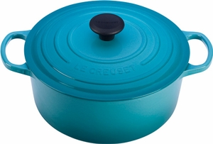 Le Creuset Signature 5.5 Quart Round Dutch Oven - Click to enlarge