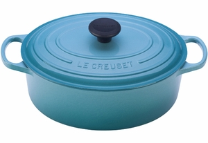 Le Creuset Signature 6.75 Quart Oval Dutch Oven - Click to enlarge