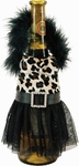 Leopard Dress Wine Bottle Cover