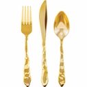 Madhouse Rock 12 Piece Cutlery Set Gold