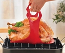 Maverick Silicone Turkey Lifter with Roasting Thermometer