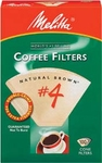 Melitta #4 Coffeemaker Filter Papers Pack 100