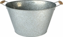 Oasis Galvanized Party Tub