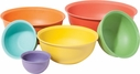 Oggi 6 Piece Bamboo Fiber Mixing Bowl Set
