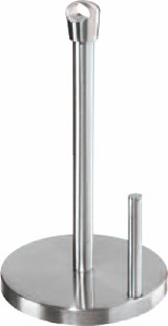 Oggi Stainless Steel Paper Towel Holder with Handle - Click to enlarge