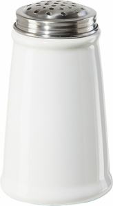 Oggi White Ceramic Cheese Shaker - Click to enlarge