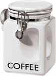 Orgy White EZ Grip Coffee Canister