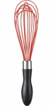 "Oxo Good Grips 11"" Red Silicone Balloon Whisk"
