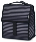 Packit Lunch Bag Grey Stripe