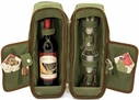 Picnic Time Pine Green Estate Wine Tote