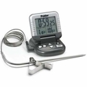 Polder Digital Cooking Thermometer & Timer with Probe
