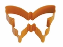 Polyresin Coated Cookie Cutter- Orange Butterfly