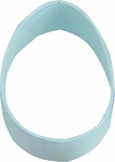 Polyresin Coated Cookie Cutter- White Easter Egg