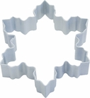 Polyresin Coated Cookie Cutter- White Snowflake