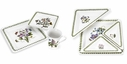 Portmeirion Botanic Garden 16 Piece Square Dinnerware & Entertainment Set