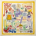 Primitives By Kathy New Jersey Tea Towel