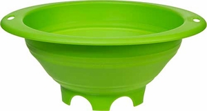 Progressive Green 3 Quart Collapsible Colander - Click to enlarge
