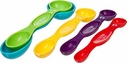 Progressive Snap Fit Plastic Measuring Spoons