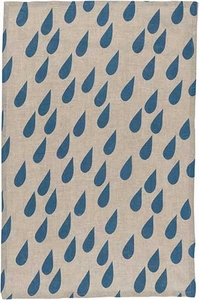 Raindrops Linen Towel - Click to enlarge