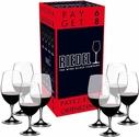 """Riedel """"Pay 6 Get 8"""" Ouverture Magnum Wine Glasses"""